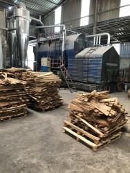 Lò sấy gỗ tràm FSC